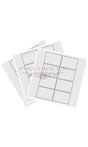 2.5 x 3 rectangular cards