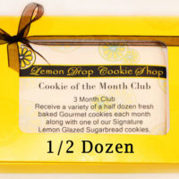 Cookie of the Month Club - 1/2 Dozen