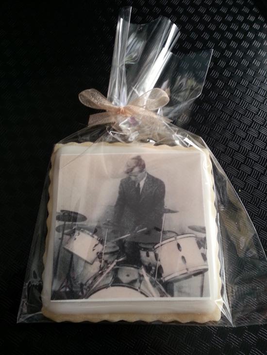 Vintage Drummer Edible Print