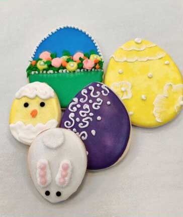 Easter Cookie Eggs